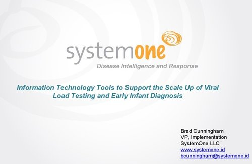 System One - Disease Intelligence. At The Speed of Now.